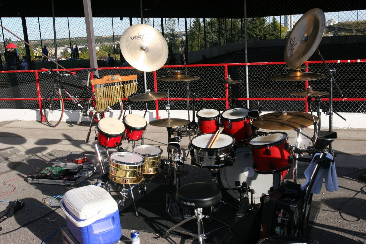 mx missile - roccos drums - Calgary Bike Polo Championships