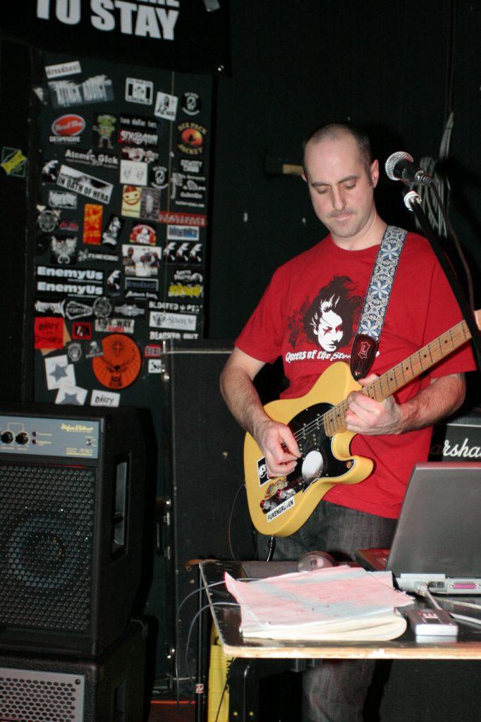 mxmissile greg on rhythm guitar 2009
