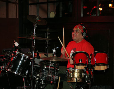 victor laso playing drums